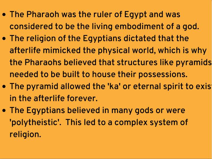 religion in old kingdom egypt