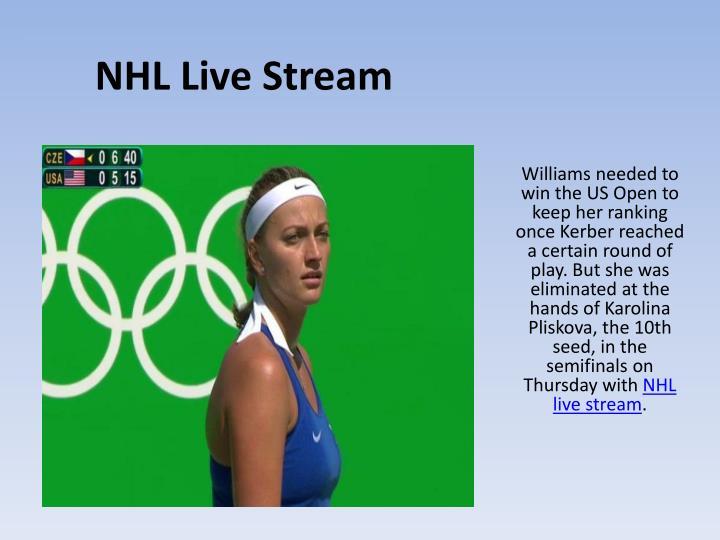 livestream nhl