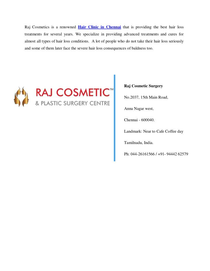 Raj Cosmetics is a renowned