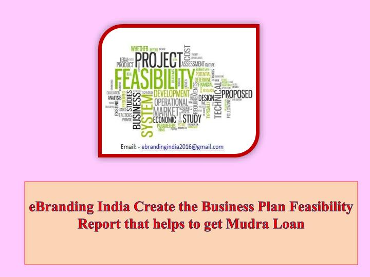 Help in creating business plan