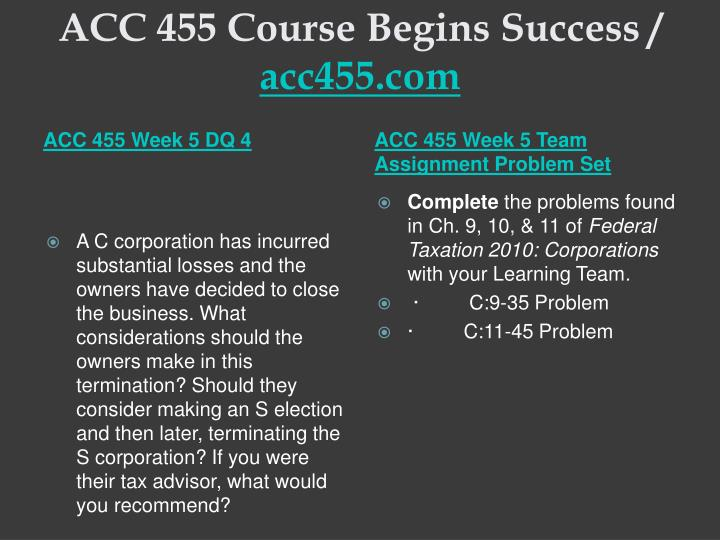 acc 455 week 2 team assignment Ajs 532 week 2 week 2 theory of justice analysis paper ajs 532 week 3   acc 455 week 2 individual assignment problem set acc 455.