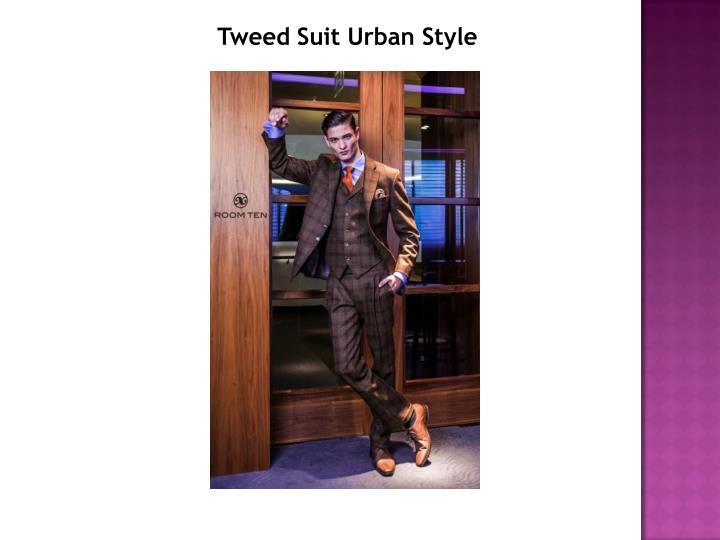 Tweed Suit Urban Style