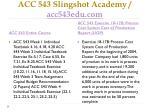 acc 543 slingshot academy acc543edu com1