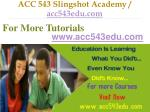 acc 543 slingshot academy acc543edu com7