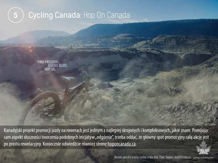 Cycling Canada: