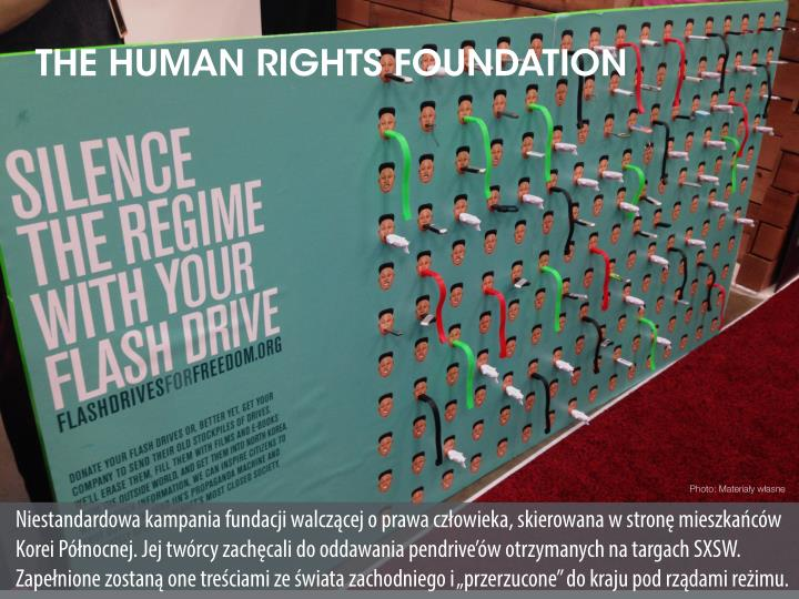 THE HUMAN RIGHTS FOUNDATION