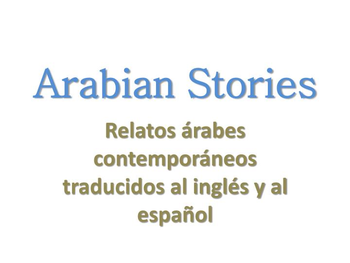 Arabian Stories