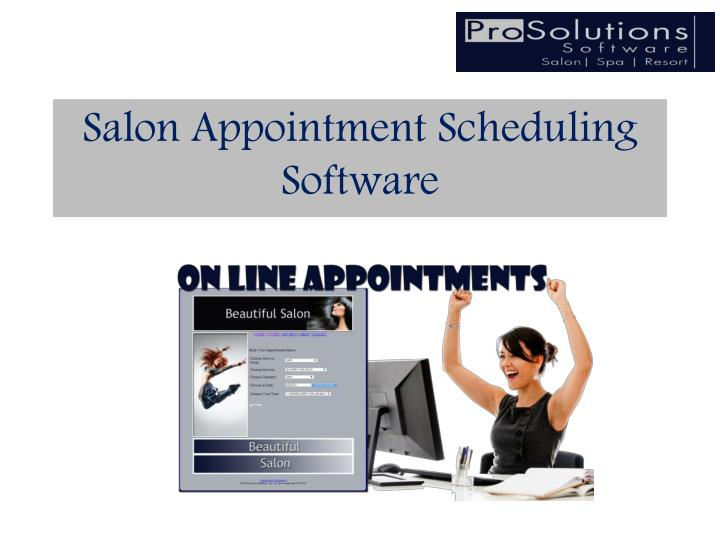 Salon Appointment Scheduling