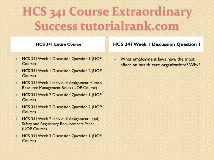 hcs 341 week 4 individual training Tutorialrank is a online tutorial store we provides hcs 341 week 4 individual assignment training and development paper (uop course.