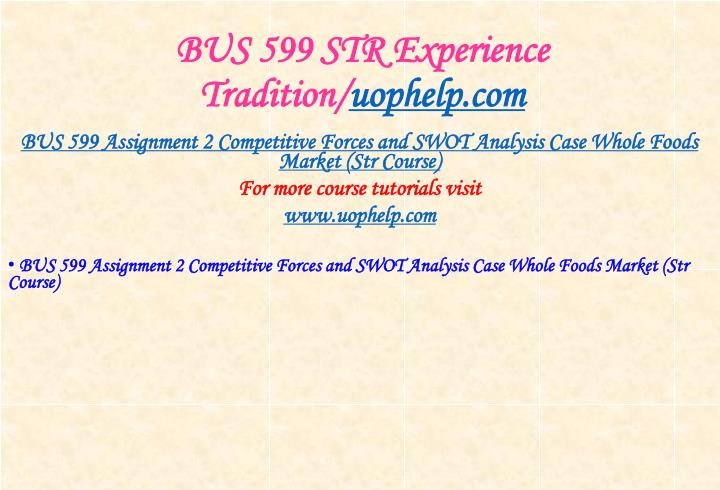 Bus 599 str experience tradition uophelp com1