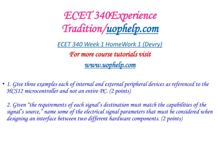 Ecet 340experience tradition uophelp com2
