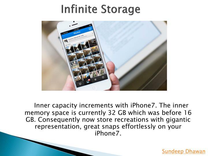 Infinite Storage