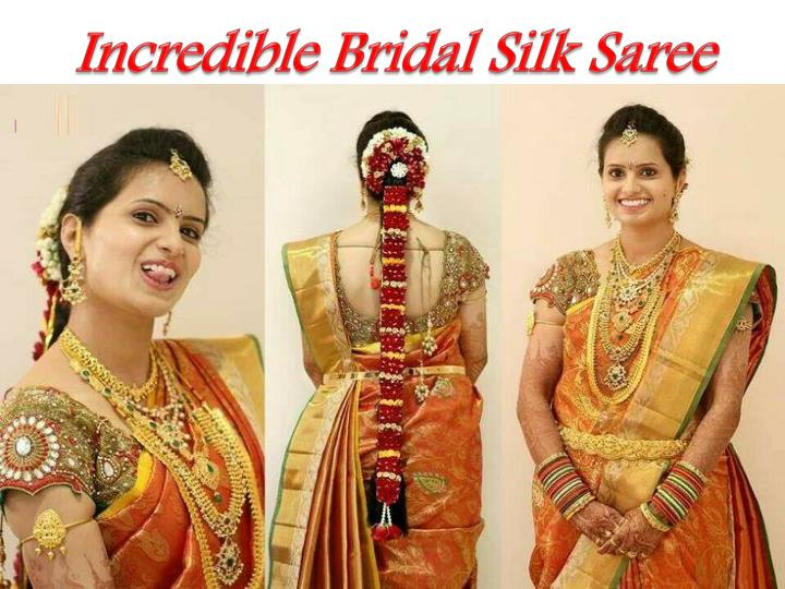 Incredible Bridal Silk Saree
