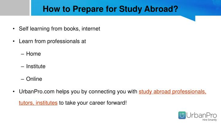 How to Prepare for Study Abroad?