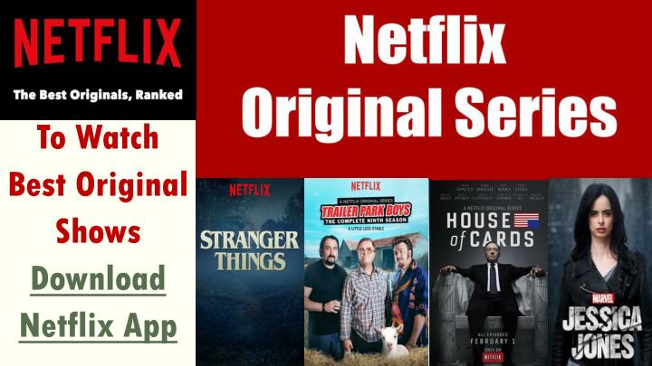 how to download shows on netflix app pc
