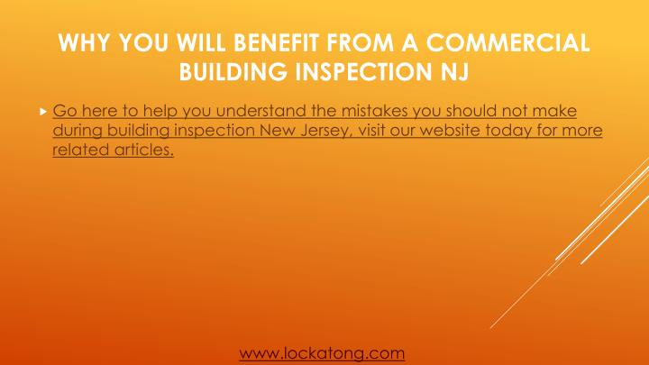 Go here to help you understand the mistakes you should not make during building inspection New Jersey, visit our website today for more related articles.