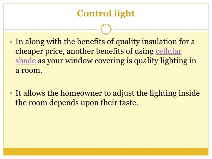 Ppt various reasons to buy cordless cellular shades for - Benefits of cellular shades ...