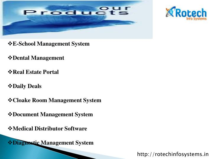 E-School Management