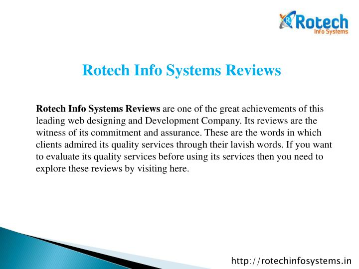 Rotech Info Systems