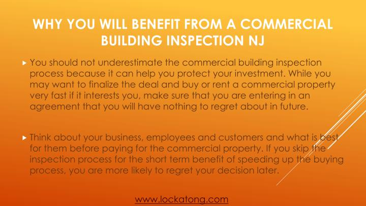 Why you will benefit from a commercial building inspection nj2
