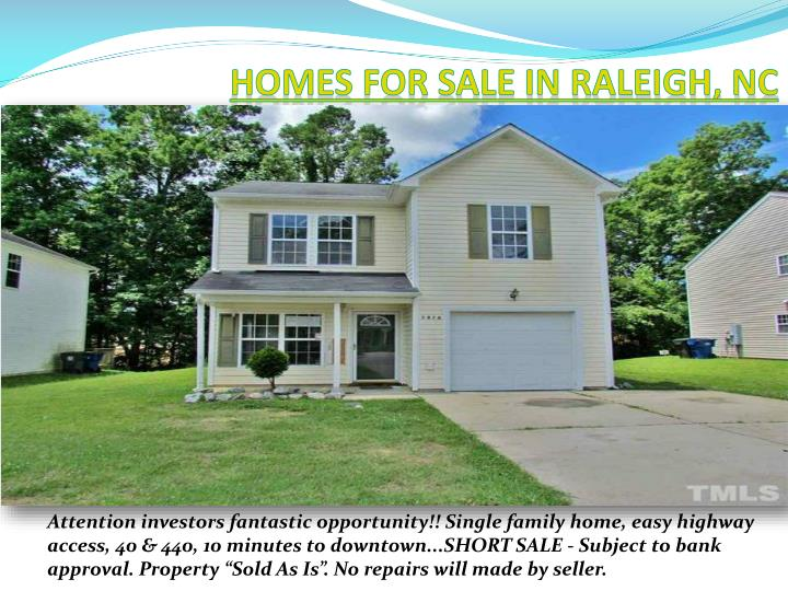 Homes for sale in Raleigh,