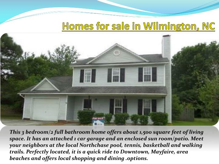 Homes for sale in Wilmington,