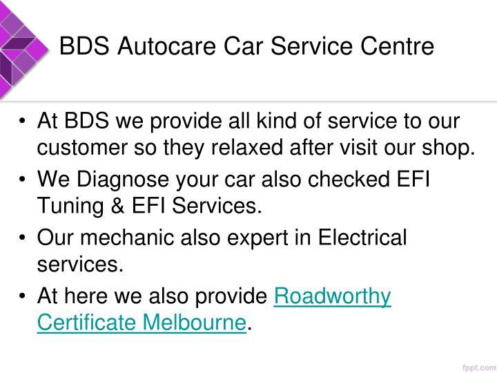 BDS Autocare Car Service Centre