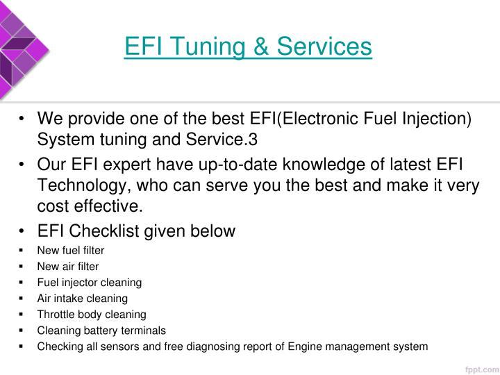 EFI Tuning & Services