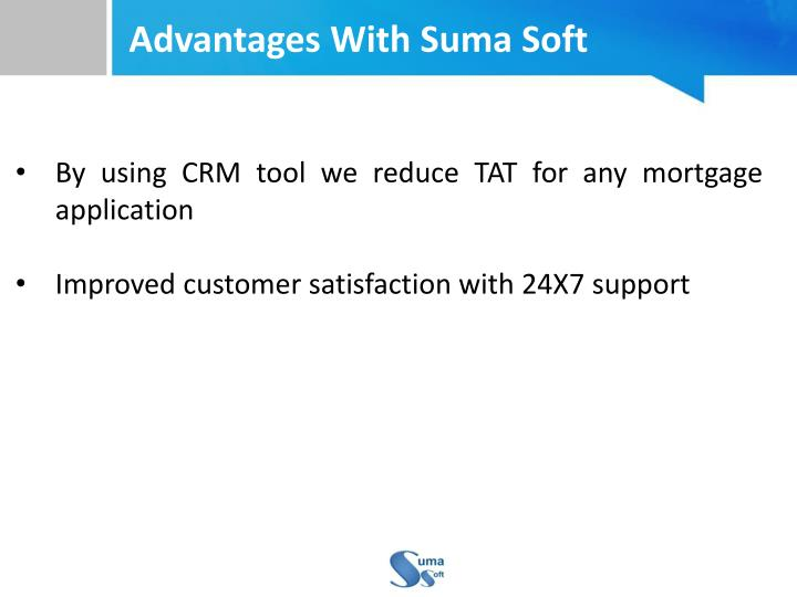 Advantages With Suma Soft