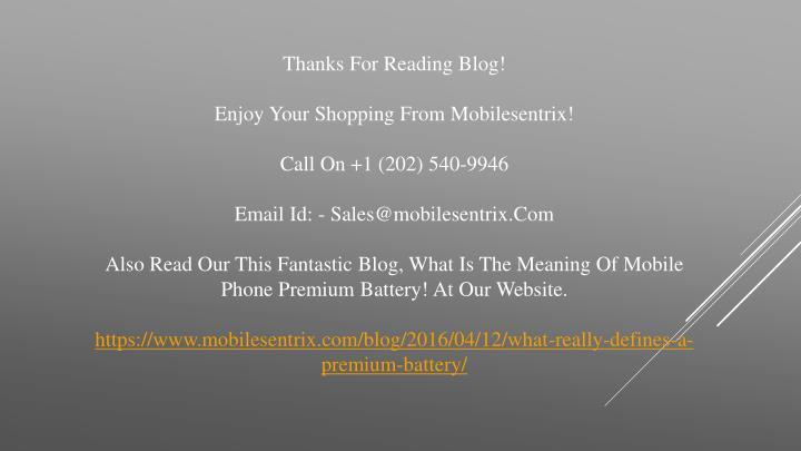 Thanks For Reading Blog!