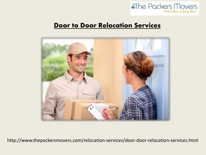 Door to Door Relocation Services