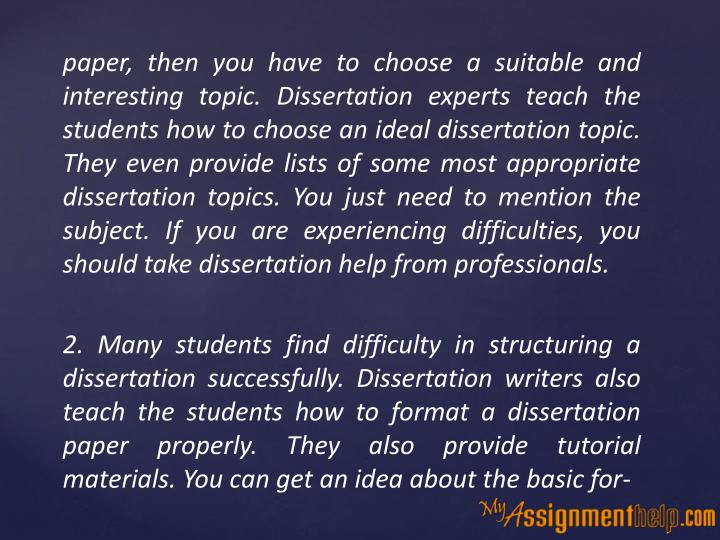 dissertation assistance service Details of dissertation writing, consulting, and coaching services.