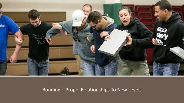 Bonding – Propel Relationships To New Levels