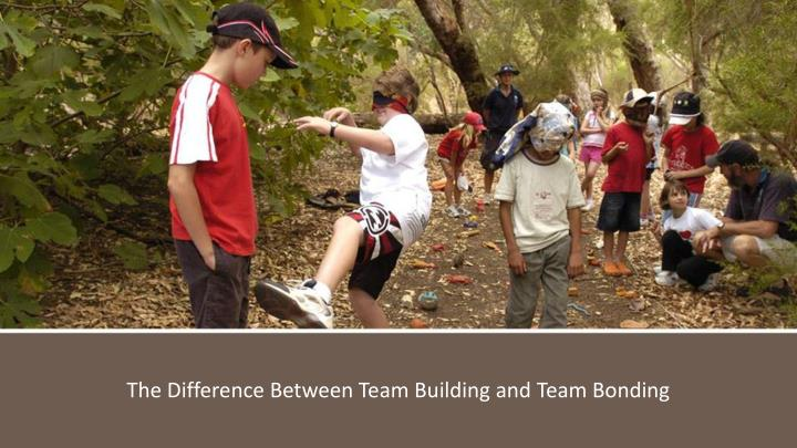 The Difference Between Team Building and Team Bonding