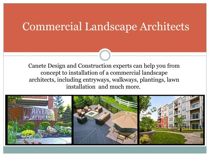 Ppt commercial snow removal services powerpoint for Ads architectural design services