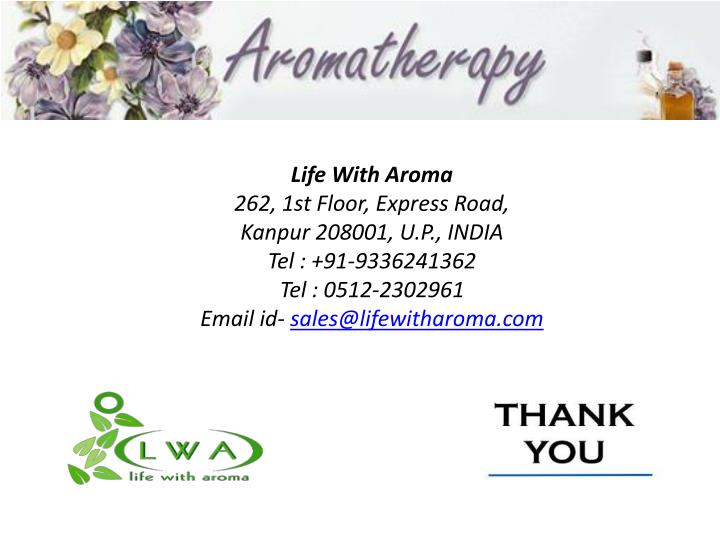 Life With Aroma