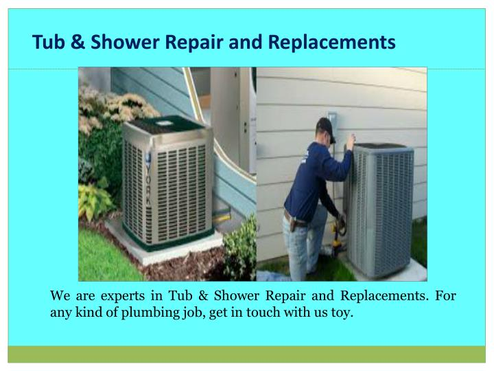 Tub & Shower Repair and Replacements