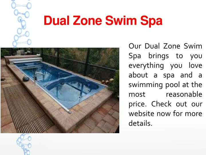 Dual Zone Swim Spa