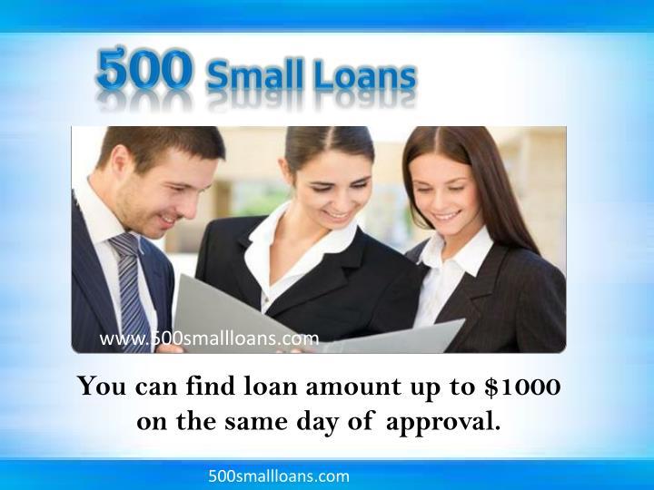 www.500smallloans.com