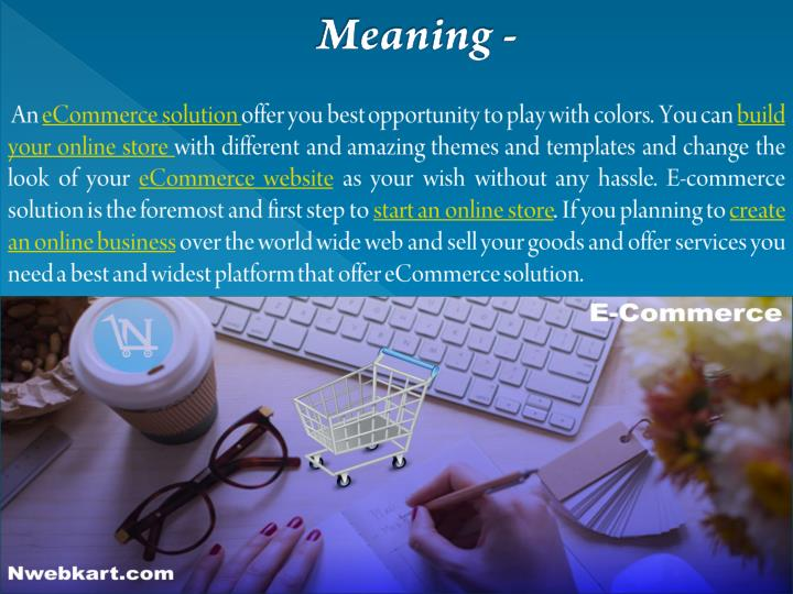 Meaning -