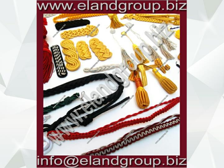 Military accoutrements supplier