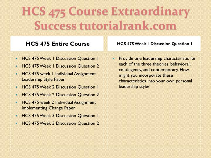 hcs 475 week 2 implementing change Hcs 475 uop courses / uoptutorial  hcs 475 week 2 individual assignment implementing change paper hcs 475 week 3 discussion question 1 hcs 475 week 3 discussion question 2 hcs 475 week 3 learning team assignment effective workgroup powerpoint presentation hcs 475 week 4 discussion question 1 hcs 475 week 4.