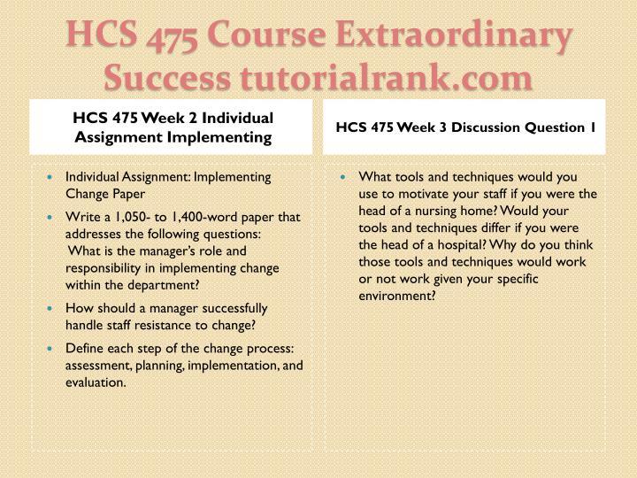 HCS 475 Week 5 Mentoring and Mentorship Program Presentation (2 PPT)