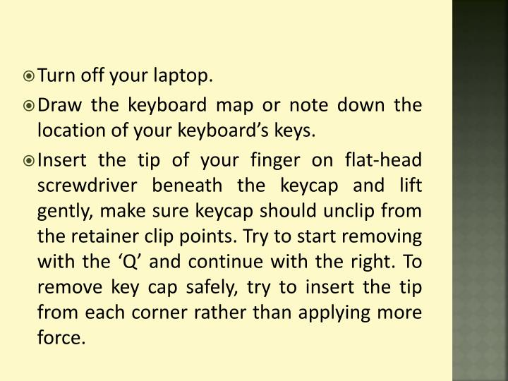 how to turn off insert on keyboard
