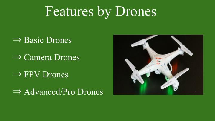 Features by Drones