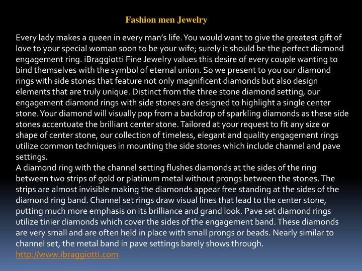 Fashion men Jewelry