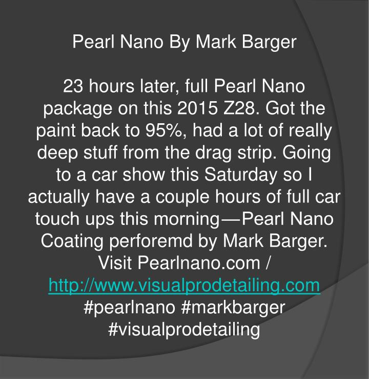 Pearl Nano By Mark Barger