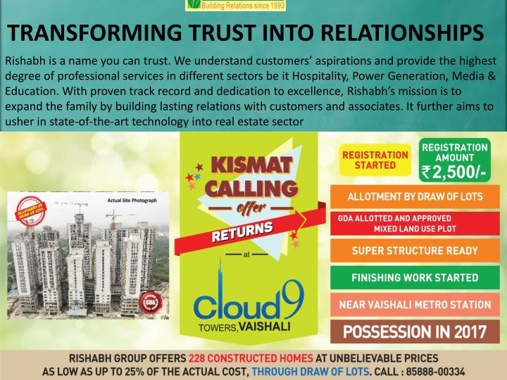 TRANSFORMING TRUST INTO RELATIONSHIPS