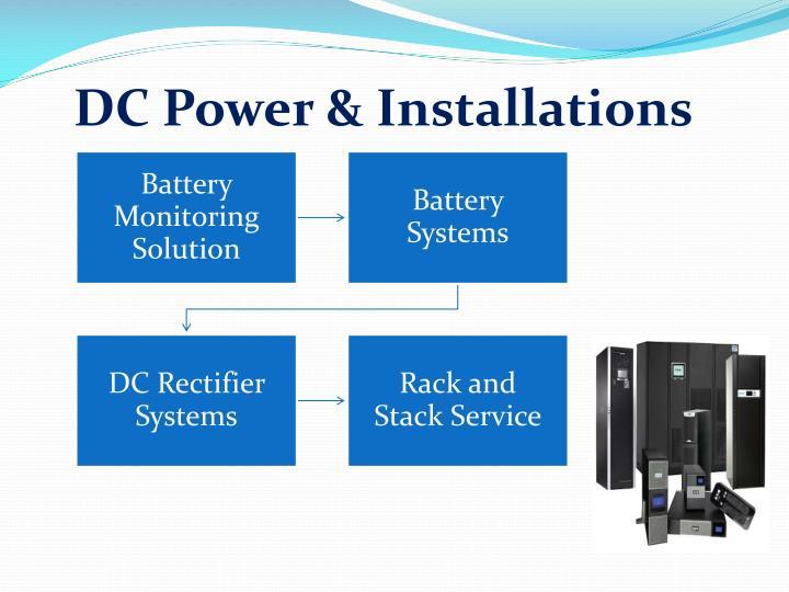 DC Power & Installations