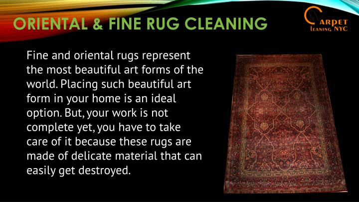 ORIENTAL & FINE RUG CLEANING